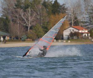 Windsurfing na Šoderici