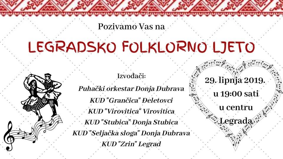 Folklorno ljeto u Legradu