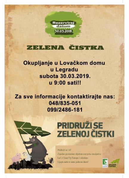 Zelena čistka u Legradu