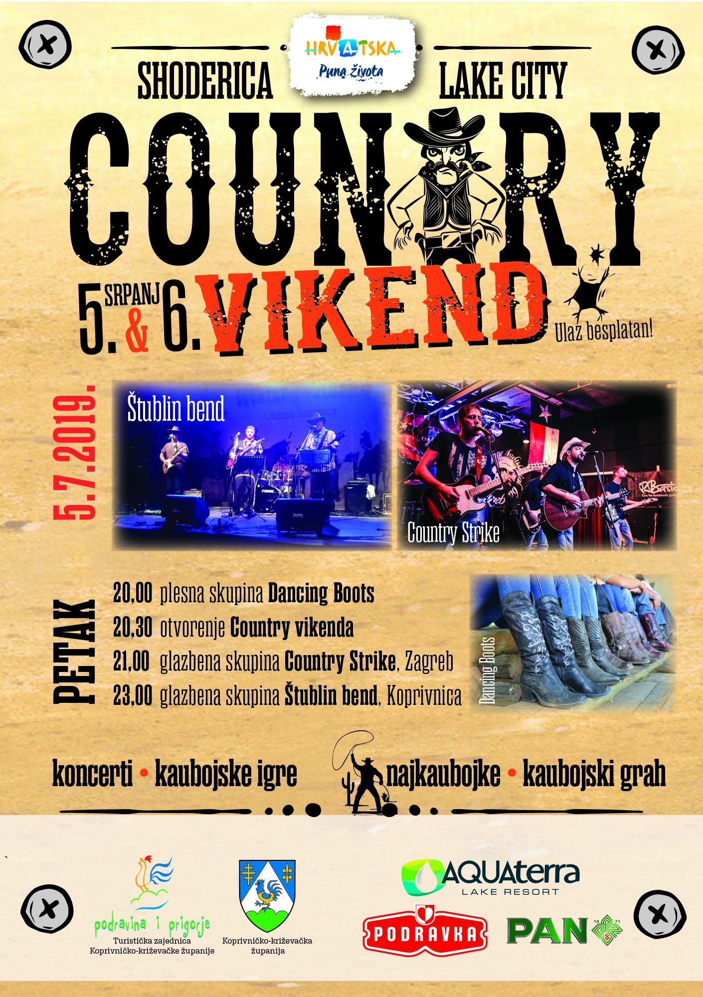 Country vikend